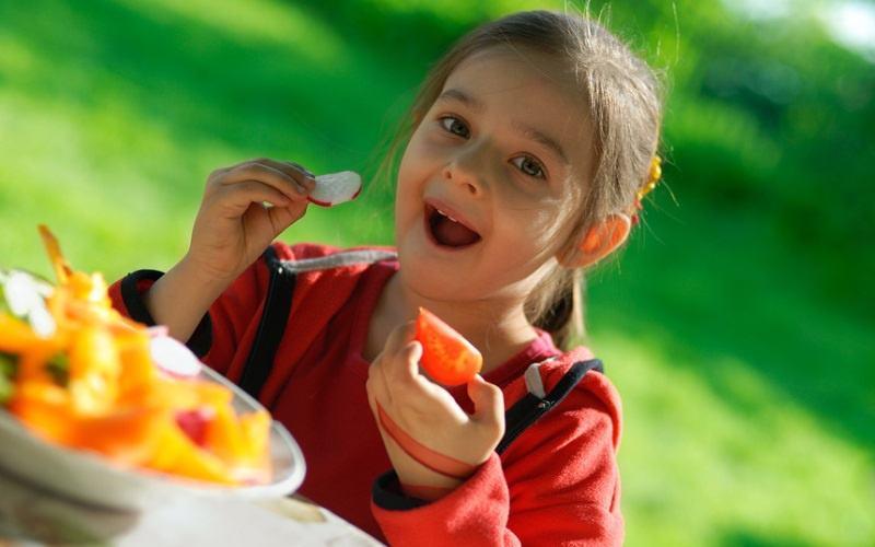 питание в детском лагере
